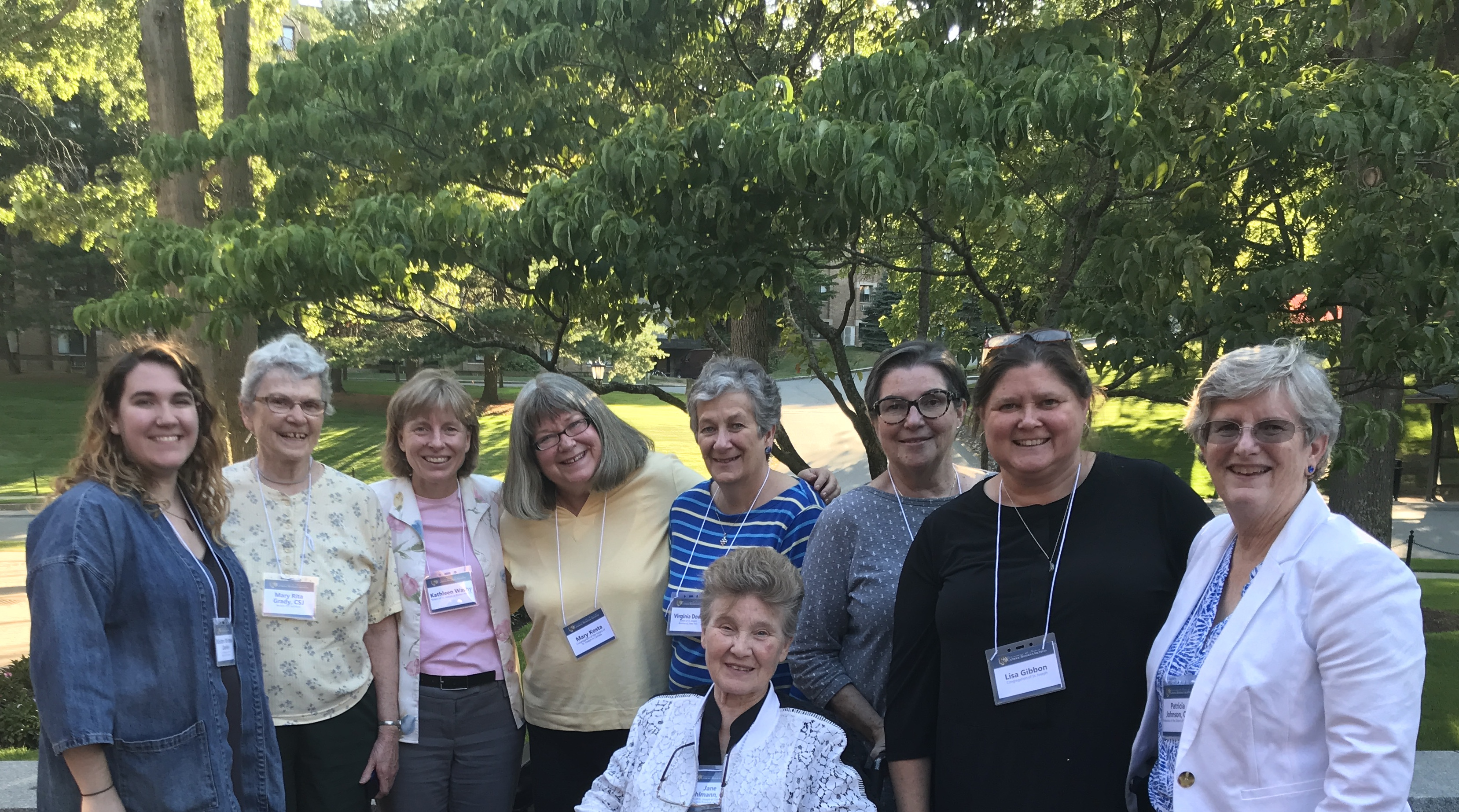 Archivists and leaders from across the U.S. and Canadian Federations of the Sisters of St. Joseph.