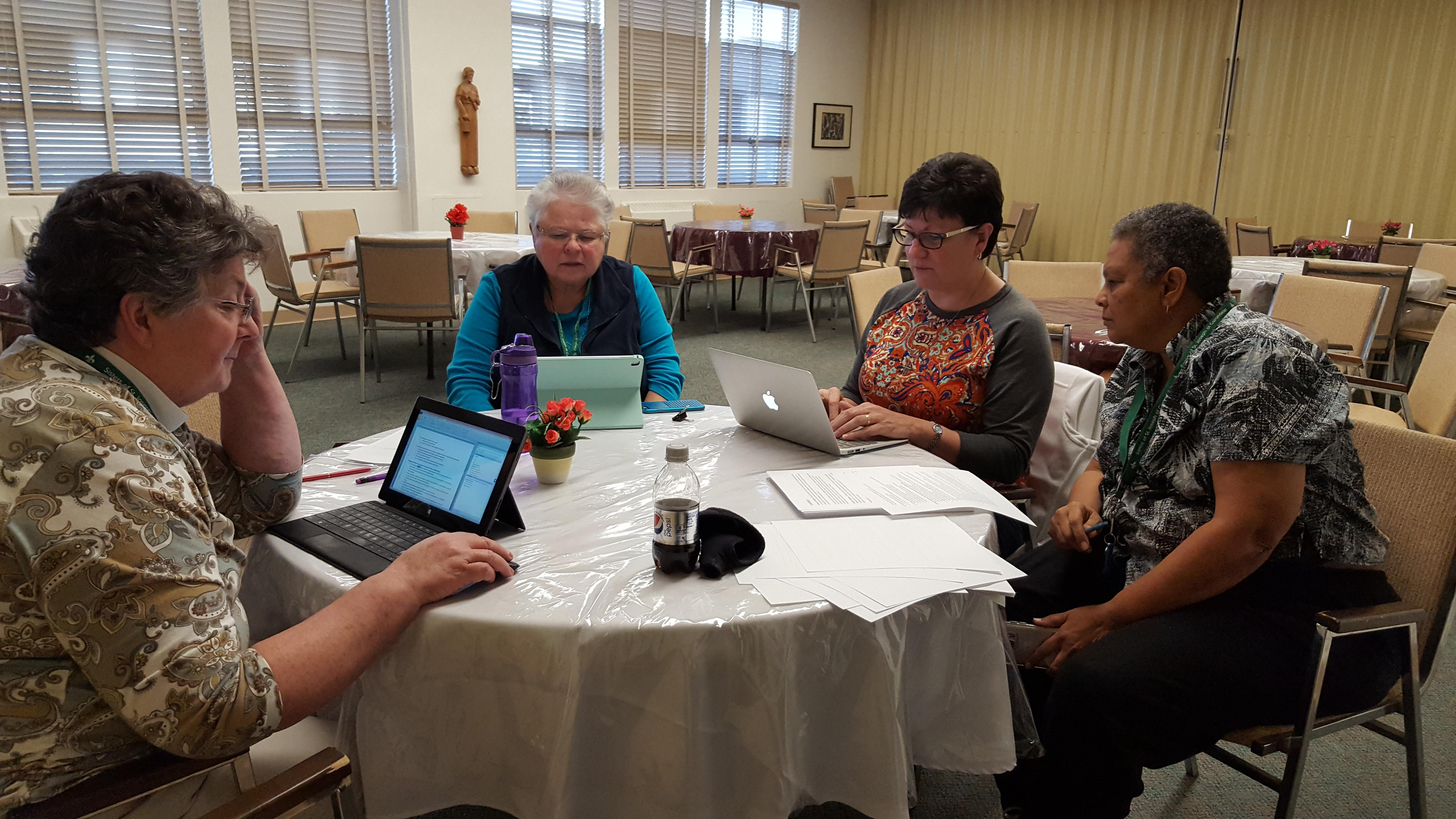 Working through feedback on the Initial Formation for Sisters handbook